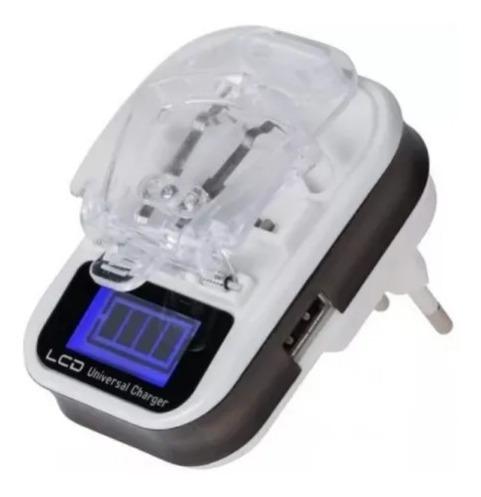 Carregador de Bateria Universal Com Display Le-U300