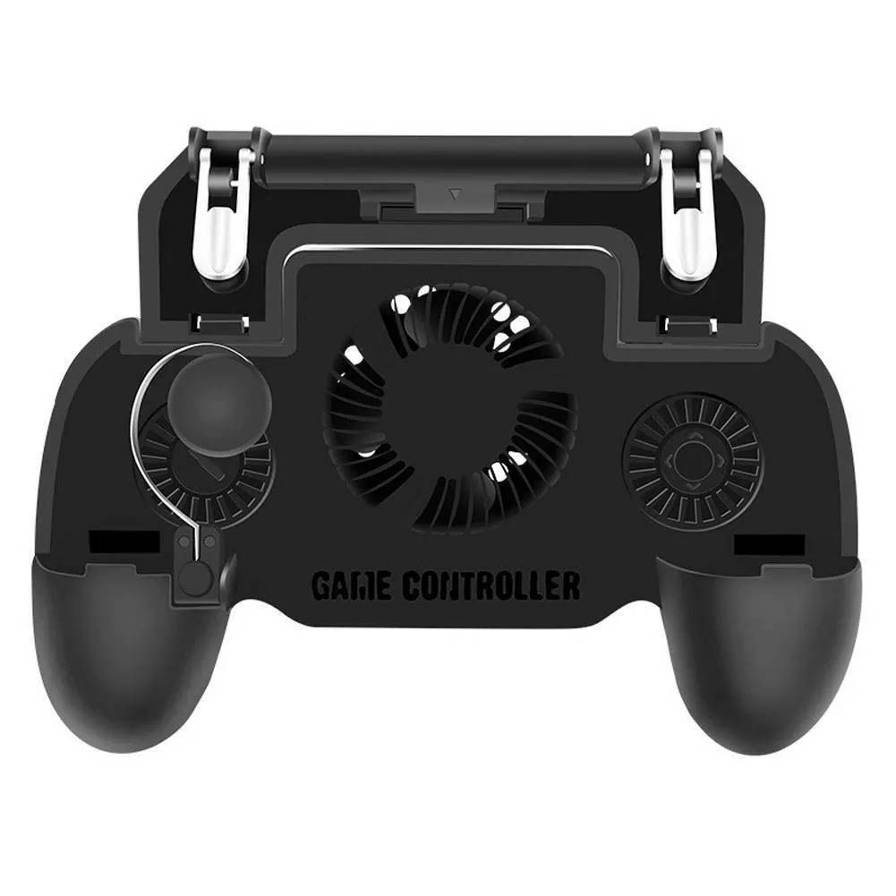 Controle de Celular - Gatilhos + Analógíco + Cooler -Pubg Free Fire
