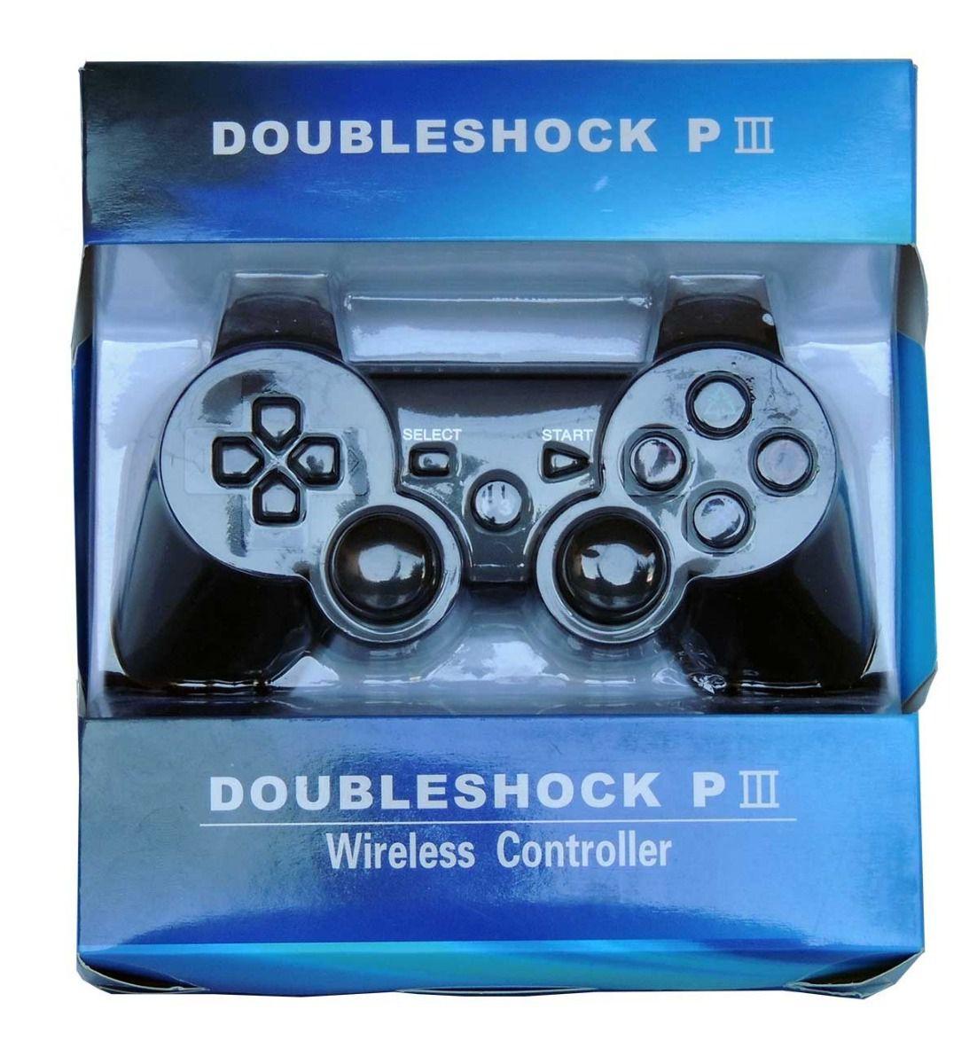 Controle de PS3 sem Fio - Doubleshock P3