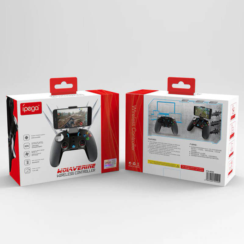 Controle Gamepad Bluetooth Celular Android Pc Ipega PG-9099
