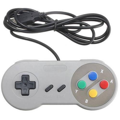 Controle Usb Modelo Super Nintendo Super Control lh-558