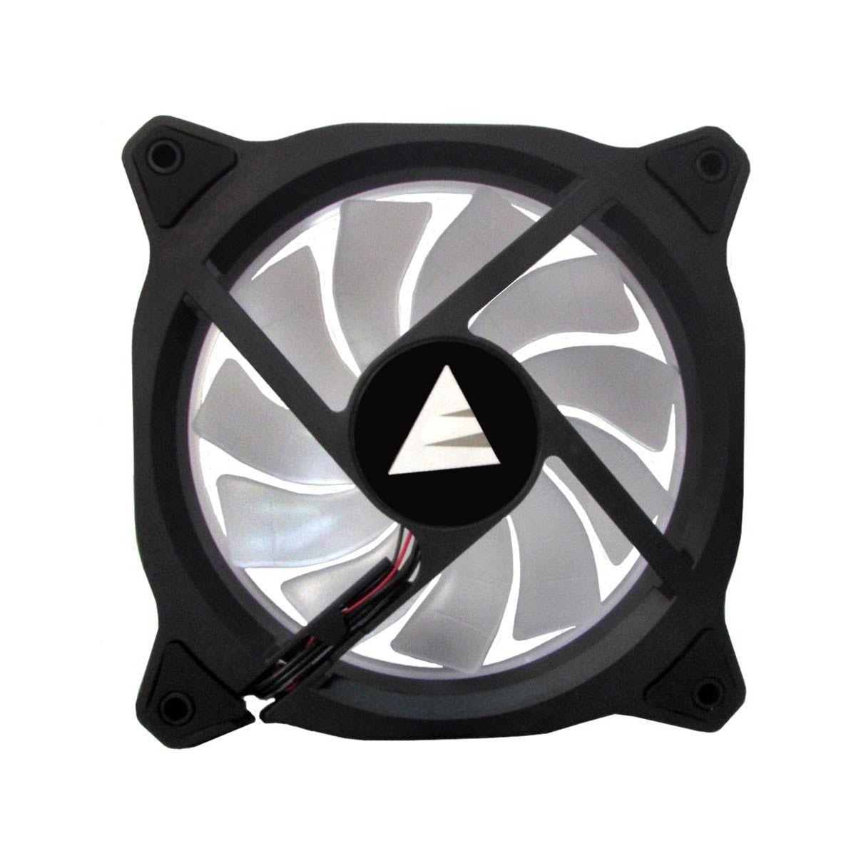 Cooler Fan Branco LED Ring Para Gabinete Bluecase