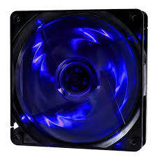 Cooler Fan F-10 120mm 4 LEDs Azul - Oex Game
