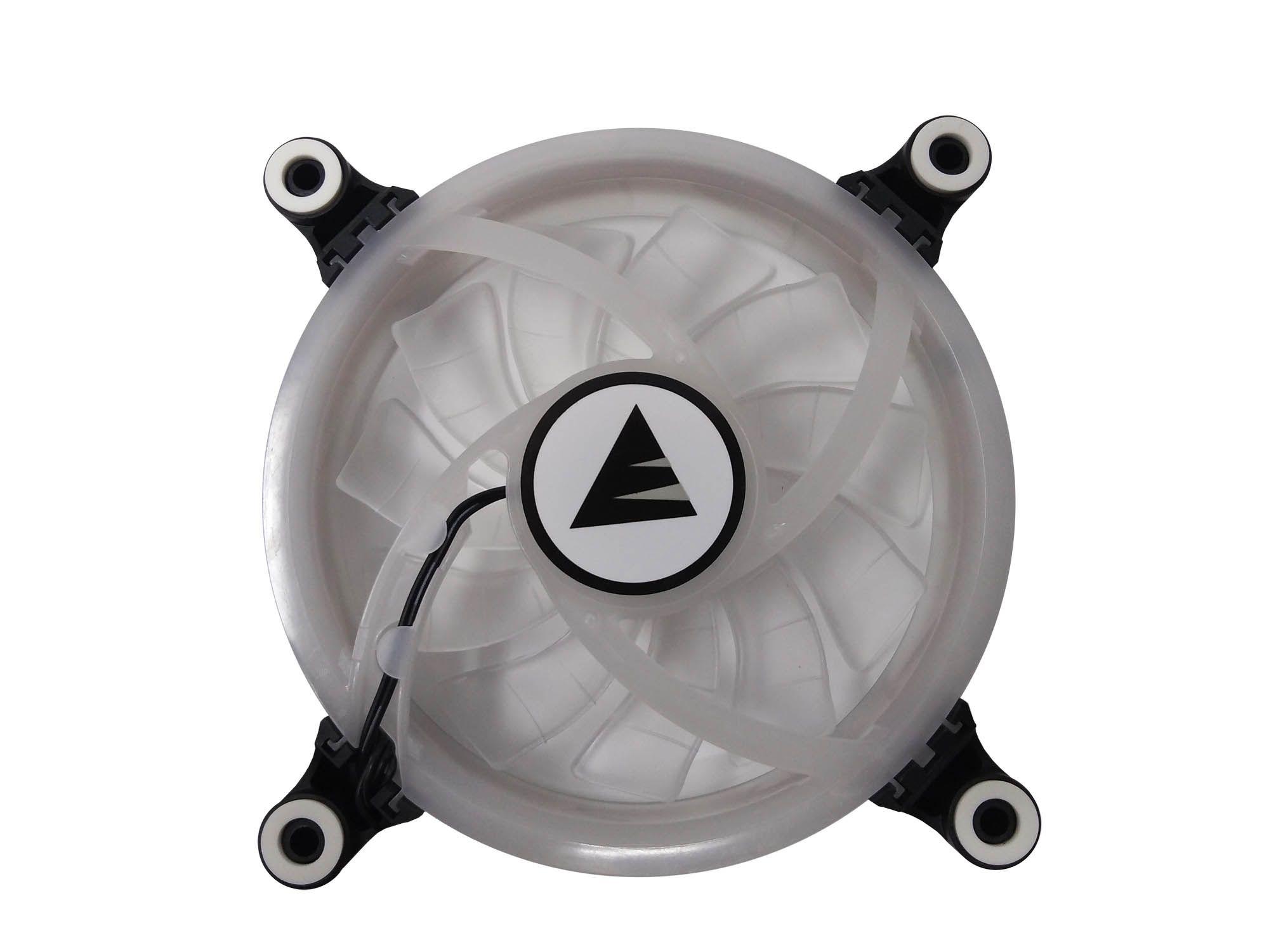 Cooler Fan LED Colorido RGB Ring Para Gabinete Bluecase