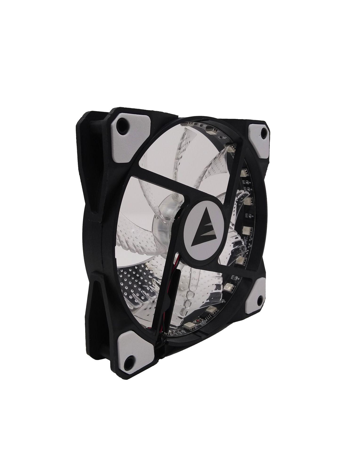 Cooler Fan RGB Para Gabinete BF-08RGB Bluecase