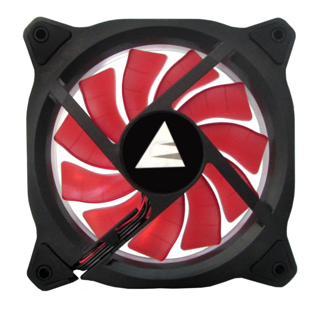 Cooler Fan Ring BFR-05R LED Vermelho 120mm - Bluecase