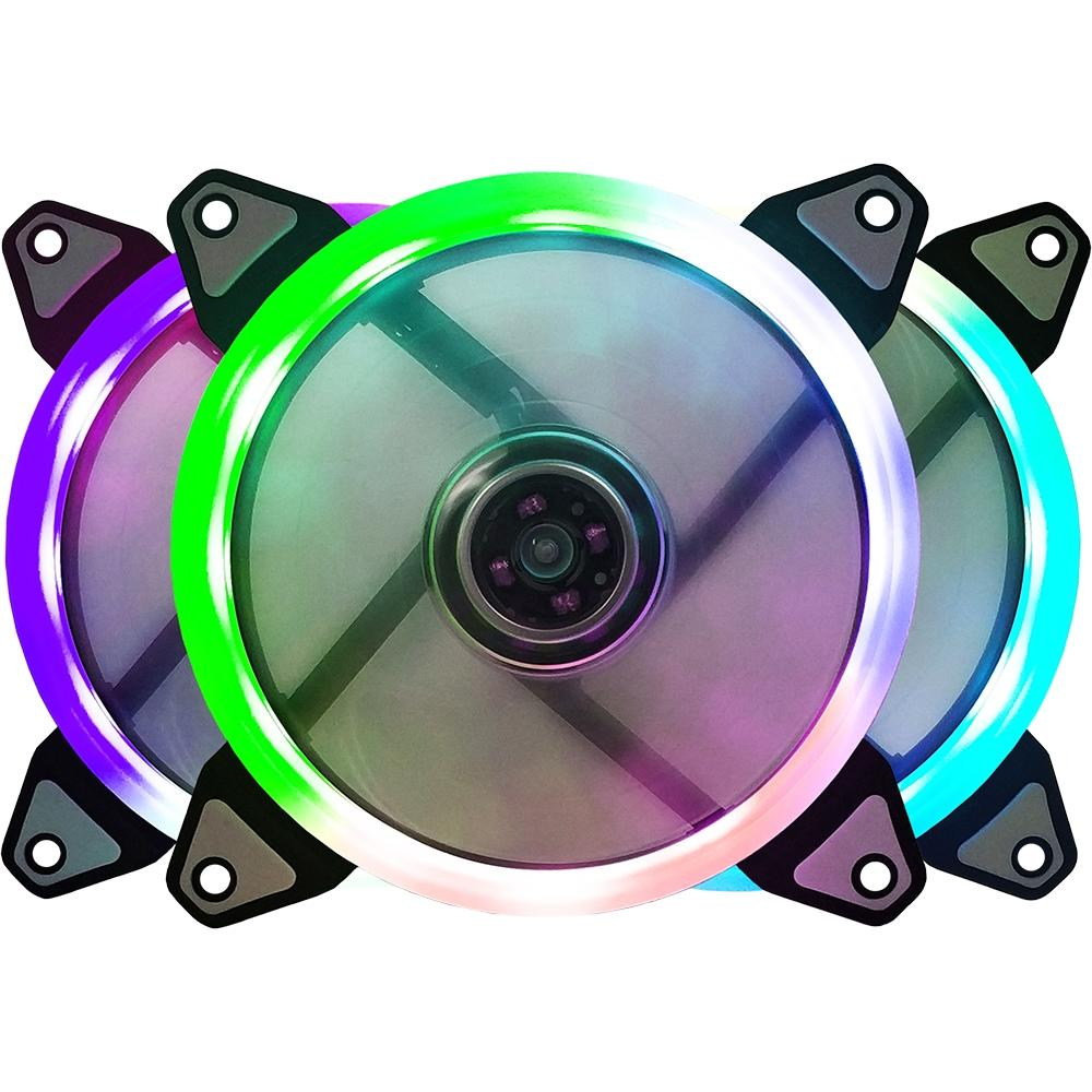 Cooler Fan Ring BFR-07RGB LED RGB 120mm - Bluecase