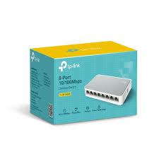 Desktop Switch 8 Portas 10/100Mbps LS1008 - TP-Link