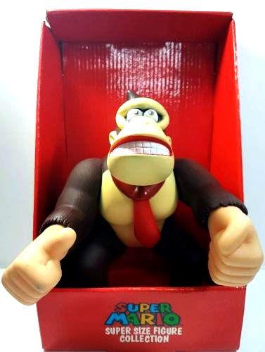 Donkey Kong Boneco - Original 23cm - Coleção Nintendo