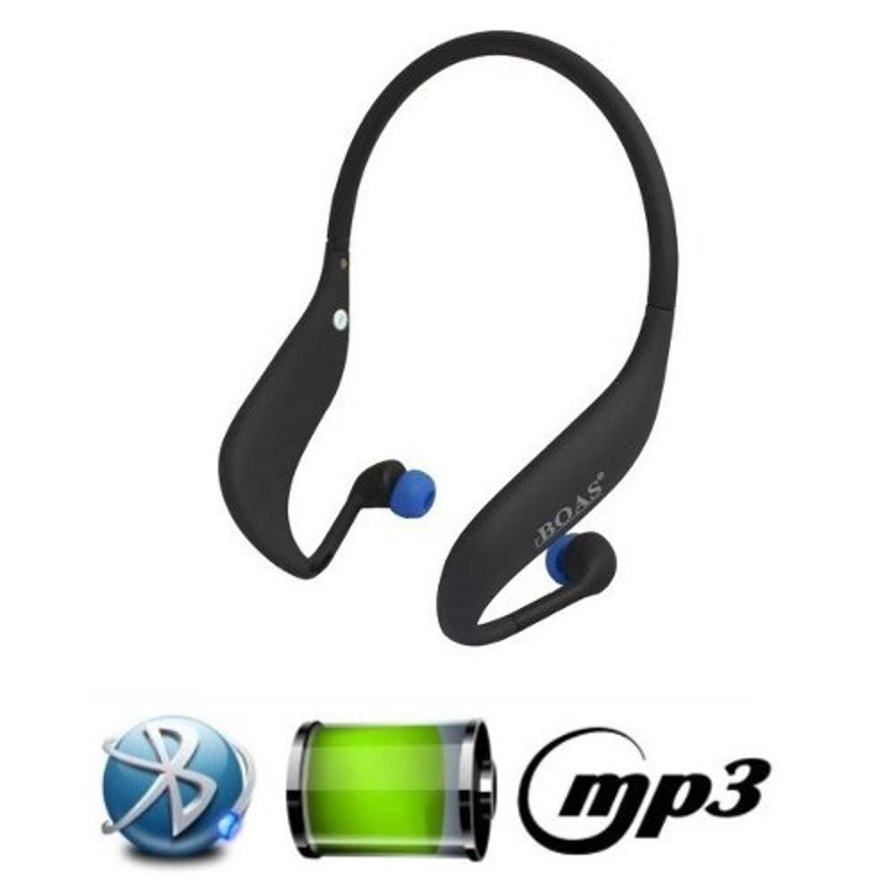 Fone De Ouvido Bluetooth + Cartão 8Gb Boas Lc-702s