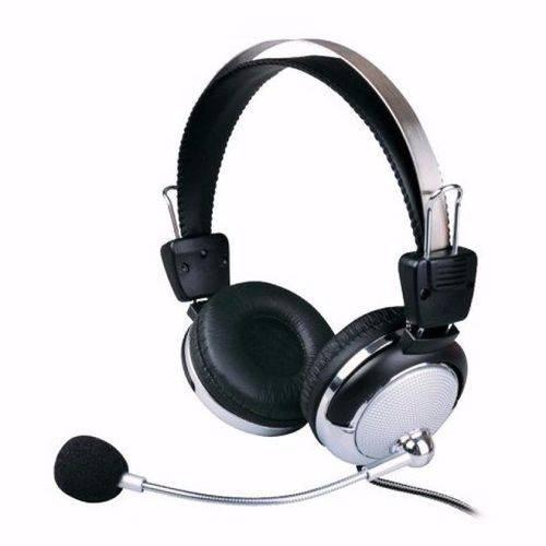 Fone De Ouvido C/ Microfone Computador Sy-301mv