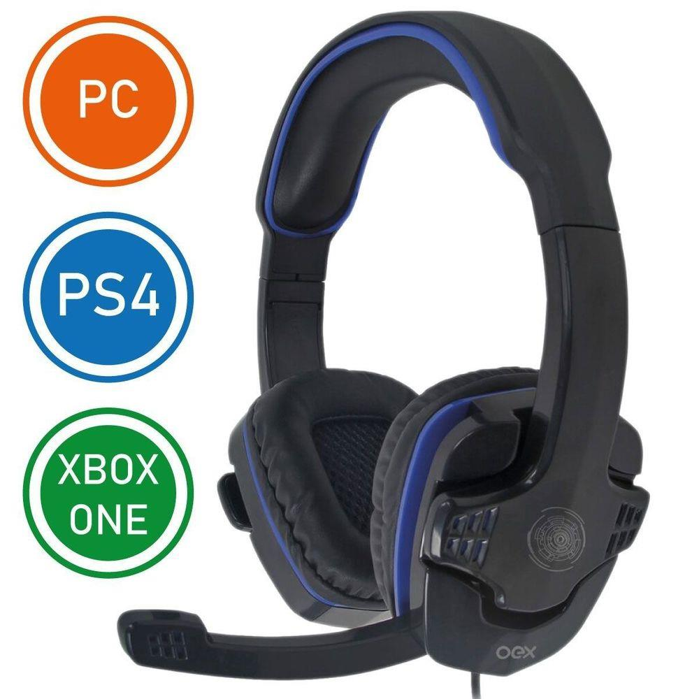 Fone De Ouvido Gamer Headset Gaming Xbox One Ps4 Pc Oex game Stalker Hs-209