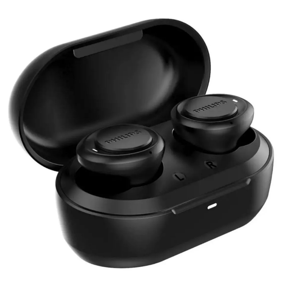 Fone de Ouvido Philips Bluetooth 5.1 Preto TAT1215