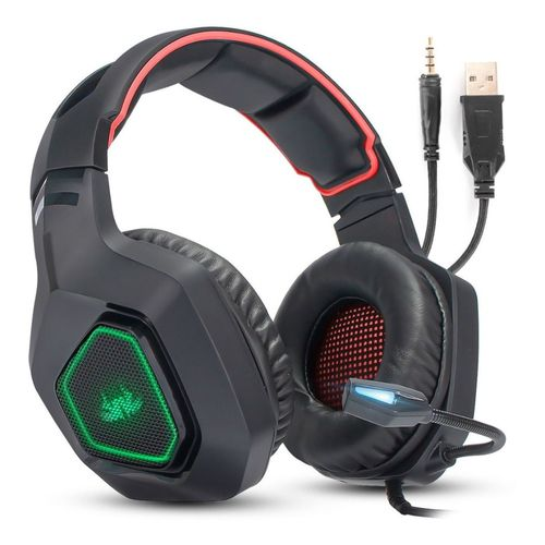 Fone Gamer Headset 7.1 P2 Pc Ps4 Xbox Kp-488