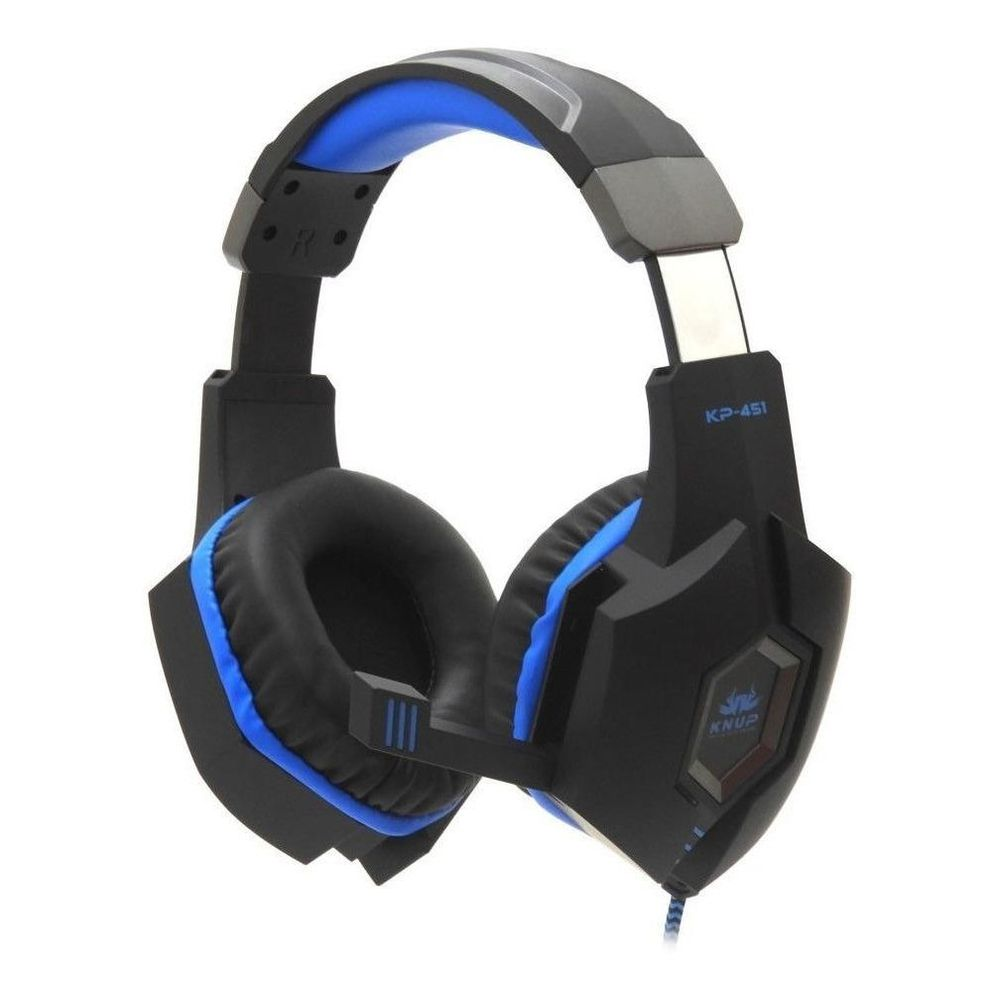 Fone Gamer Headset Profissional Com Microfone Knup kp 451