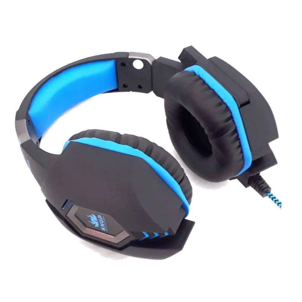 Fone Gamer Headset Profissional Com Microfone Knup kp 451