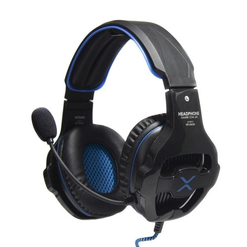 Fone Headphone Gamer full hi-fi stereo Super Bass Com Led Exbom Hf-G650