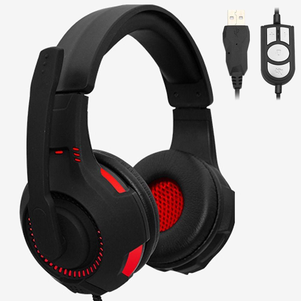 Fone Headphone Usb Microfone com Led Jwcom FO 0951