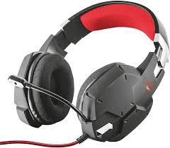 Fone Headset Gamer com cabo p2 para Pc-xbox-ps4 Trust Carus Gxt 322