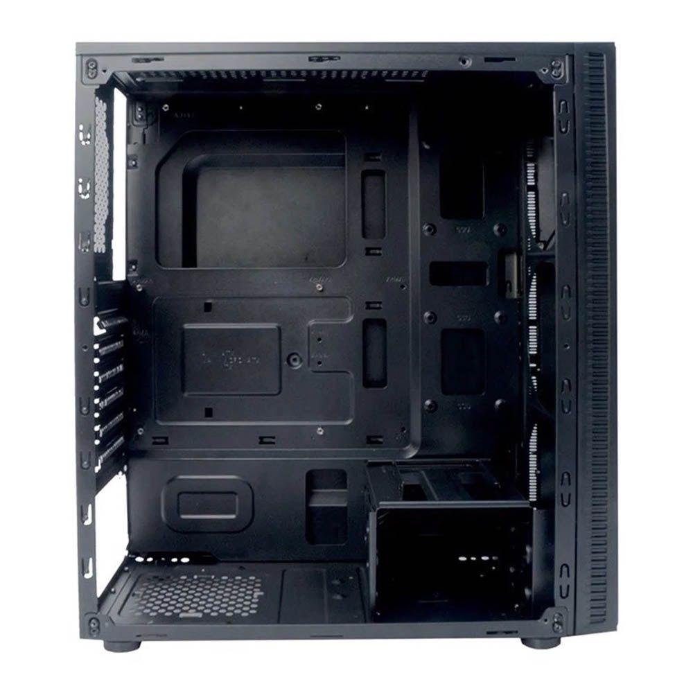 Gabinete C3Tech Gamer MT-G400 BK 1 Bais S/ Fonte