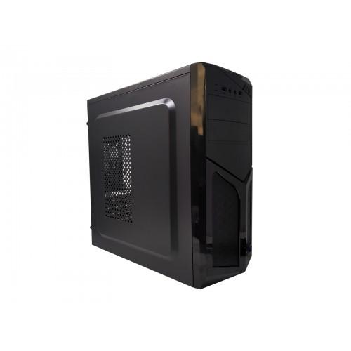 Gabinete com fonte 250 W Áudio e microfone frontal P2 + Usb Frontal Bluecase Bg-2522 Preto