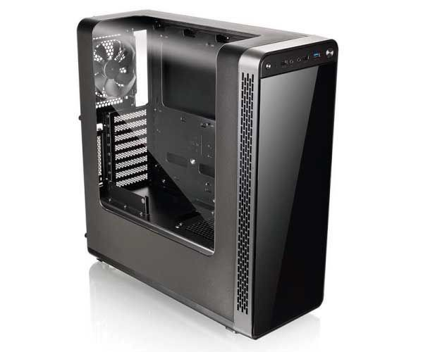 Gabinete Gamer Mid Thermaltake View 27 Fan Branco