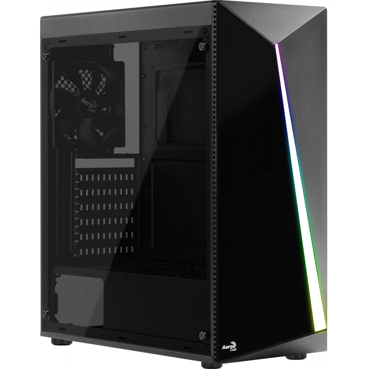 Gabinete Gamer Shard 13 Modos RGB Acrilíco - Aerocool