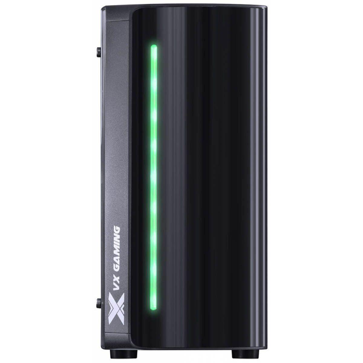 Gabinete Vx Spectrum Rgb 7 Cores Lateral Acrílico MidTower