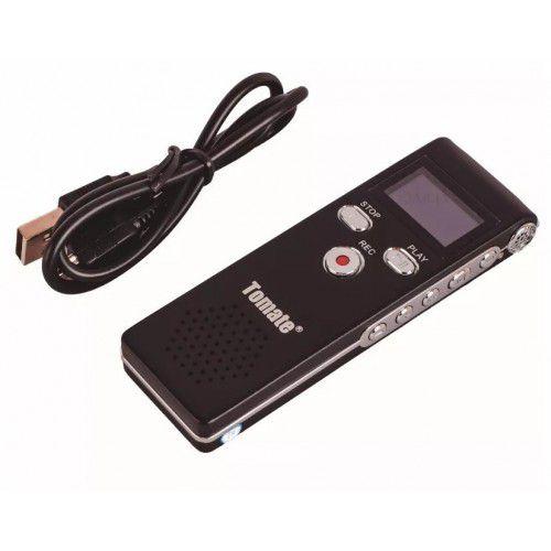 Gravador Digital 8Gb Portátil com Escuta Telefônica - Tomate