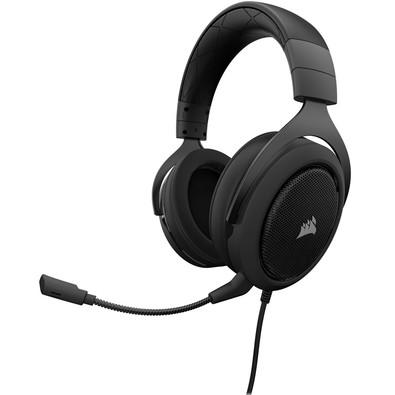 Headset Gamer P2 Stereo 2.0 Preto HS50 - Corsair