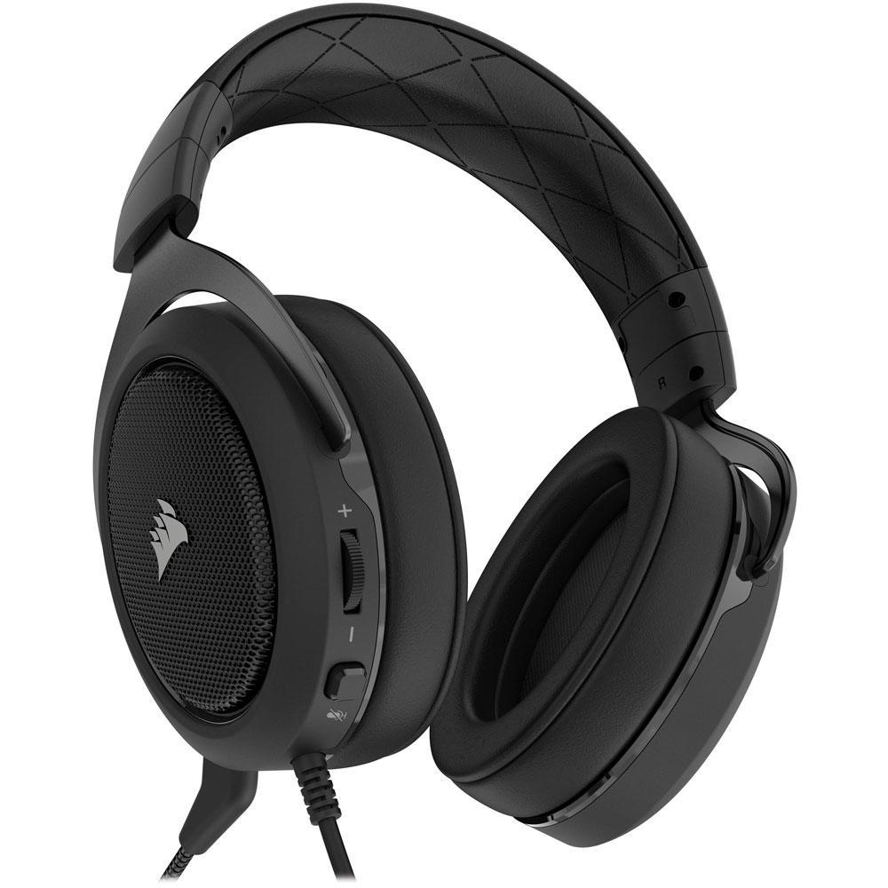 Headset Gamer P2 Stereo 2.0 Preto HS50 - Corsair