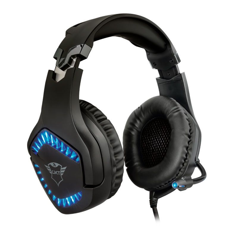Headset Gamer Profissional Led Para Pc -Xbox - One - Ps4 Trust Varzz Gxt 460