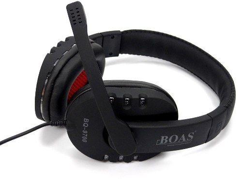 Headset Usb Stereo Pc Ps3 Xbox Notebook Boas Bq9700