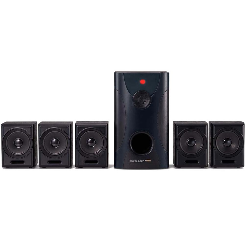 Home Theater Multilaser 5.1 Canais, 80W - SP291
