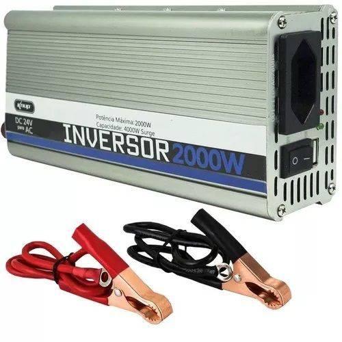 Inversor Potência 2000w 24v Conversor Transformador Tensão KP-551