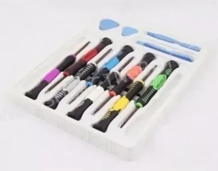 Kit Ferramentas 16 Chaves P/celular Tablets Screwdriver 2811