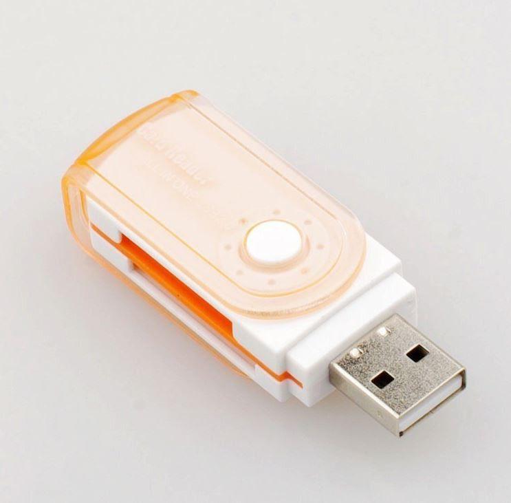 Leitor de Cartão Memória Universal USB -MicroSD - SD - Outras