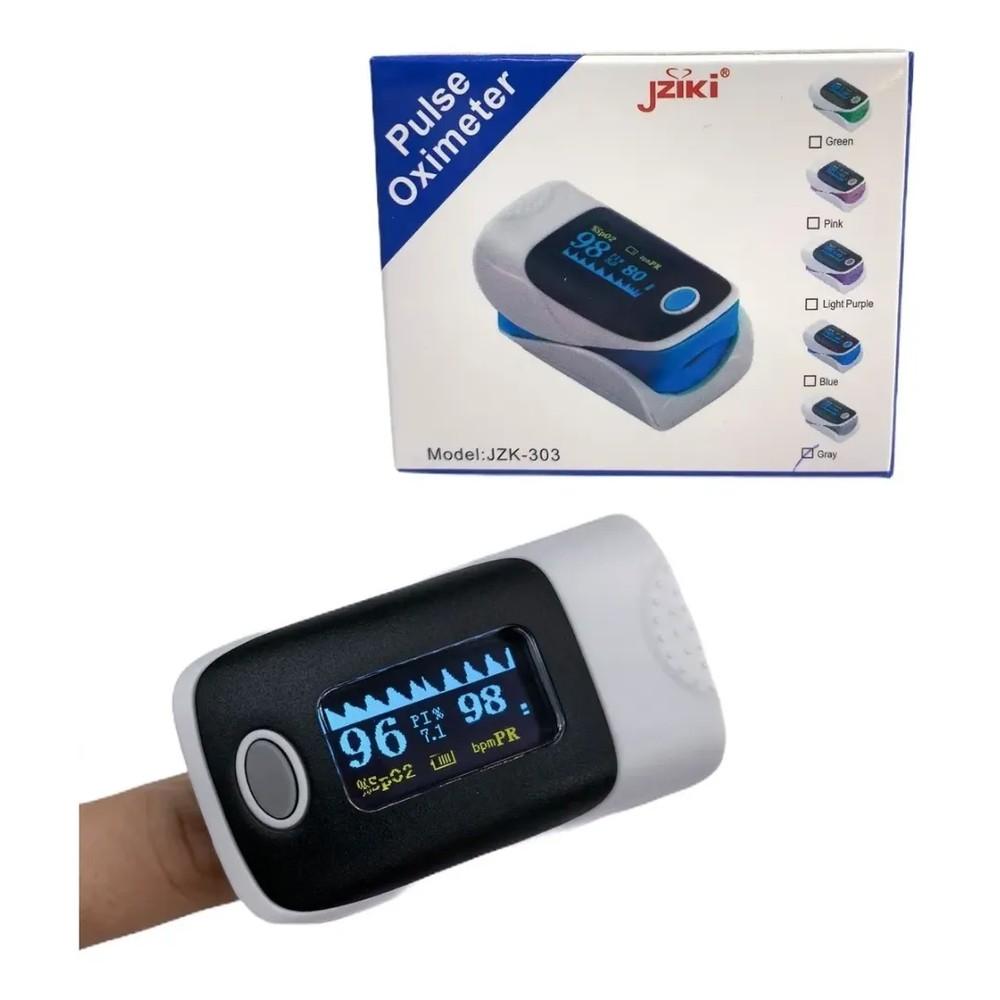 Medidor Oximetro de Pulso de Batimento Arterial - JZIKI