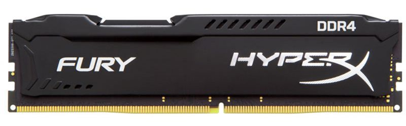 Memória 4Gb DDR4 2400mhz Gamer Hyperx Fury Kingston
