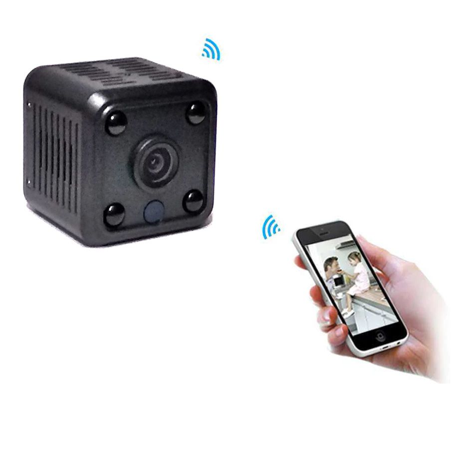 Micro Câmera Espiã Wi-Fi IP - Grava Vídeos - Acesso Remoto