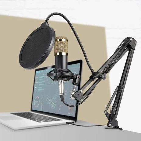 Microfone Condensador Tomate MT-1026
