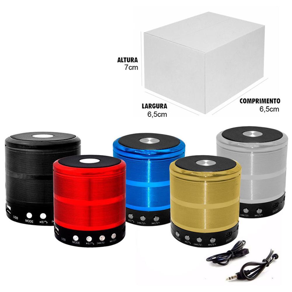 Mini Caixa de Som/Alto Falante WS-887 -  Altomex
