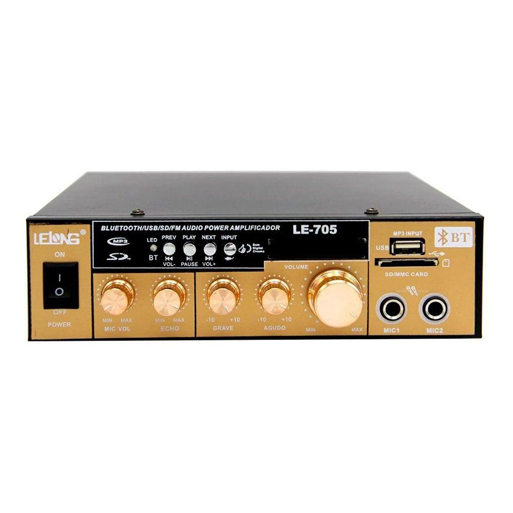 Mini Modulo Amplificador de Karaoke LE-705 - Lelong