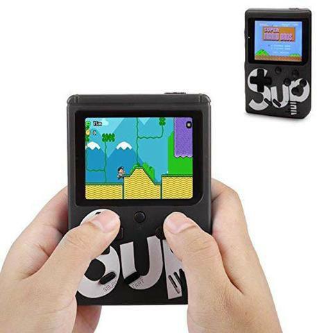 Mini Game Box + Controle Extra - 2 Jogadores - 400 Jogos