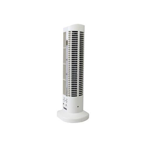 Mini Ventilador de Base Vertical USB Abajur LED 3 velocidades MLF-002