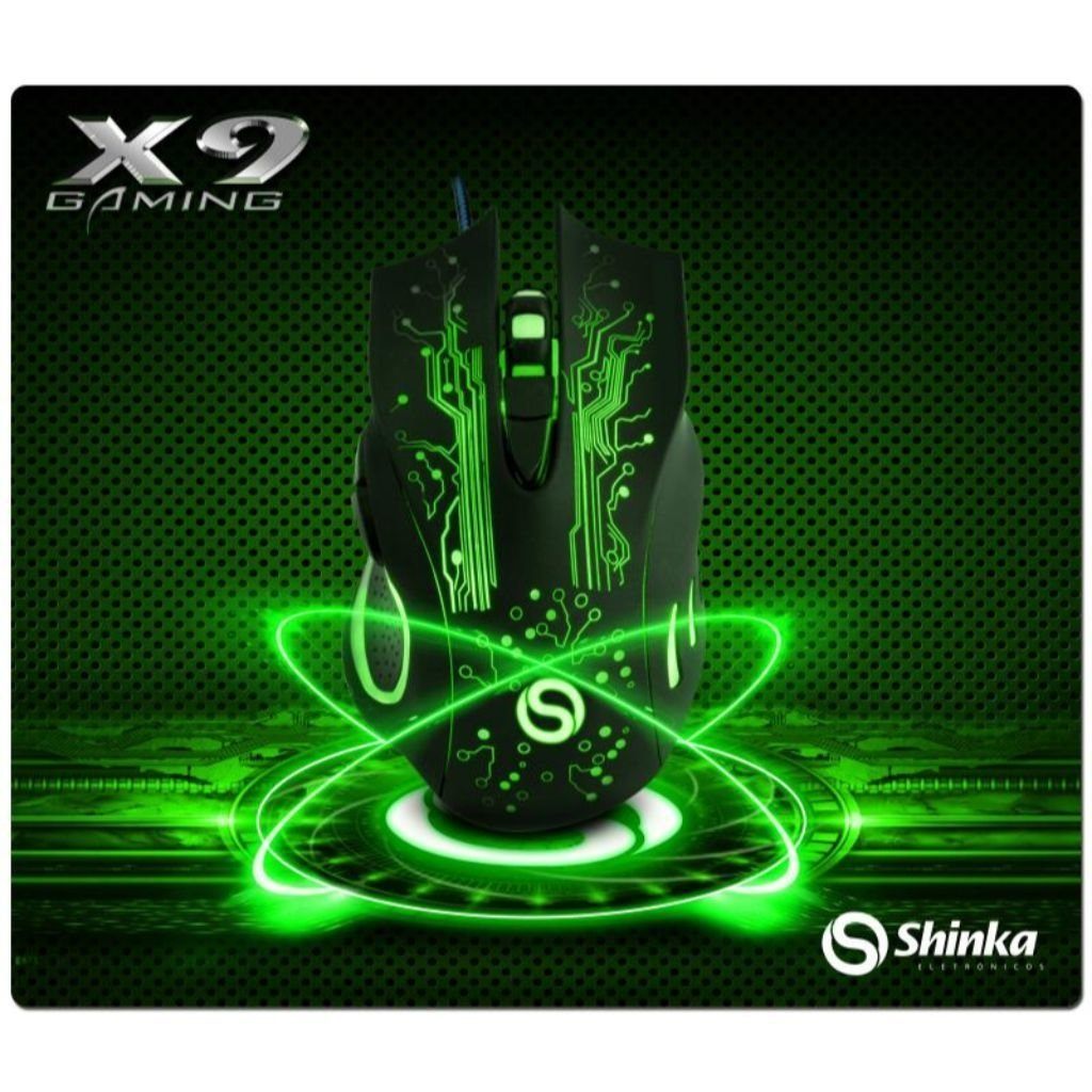 Mouse De Gamer Com Led Usb 1,3 Metros  X9