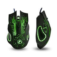 Mouse Gamer X9 2400 DPI 6 Botões Preto - Estone