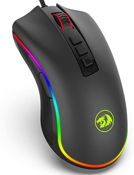 Mouse Gamer Cobra M711 Preto 10000 DPI - Redragon