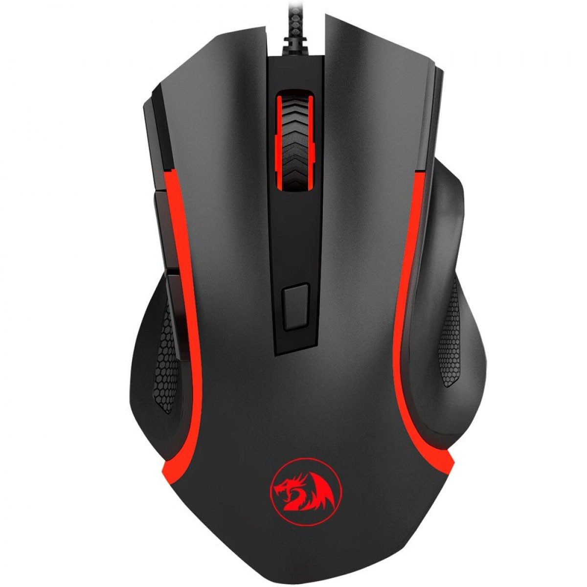 Mouse Gamer Nothosaur M606 Preto 3200 DPI - Redragon