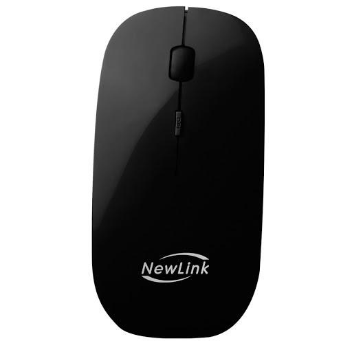 Mouse óptico sem fio com  Receptor nano usb 1600 dpi 2,4 ghz freedom Newlink mo201